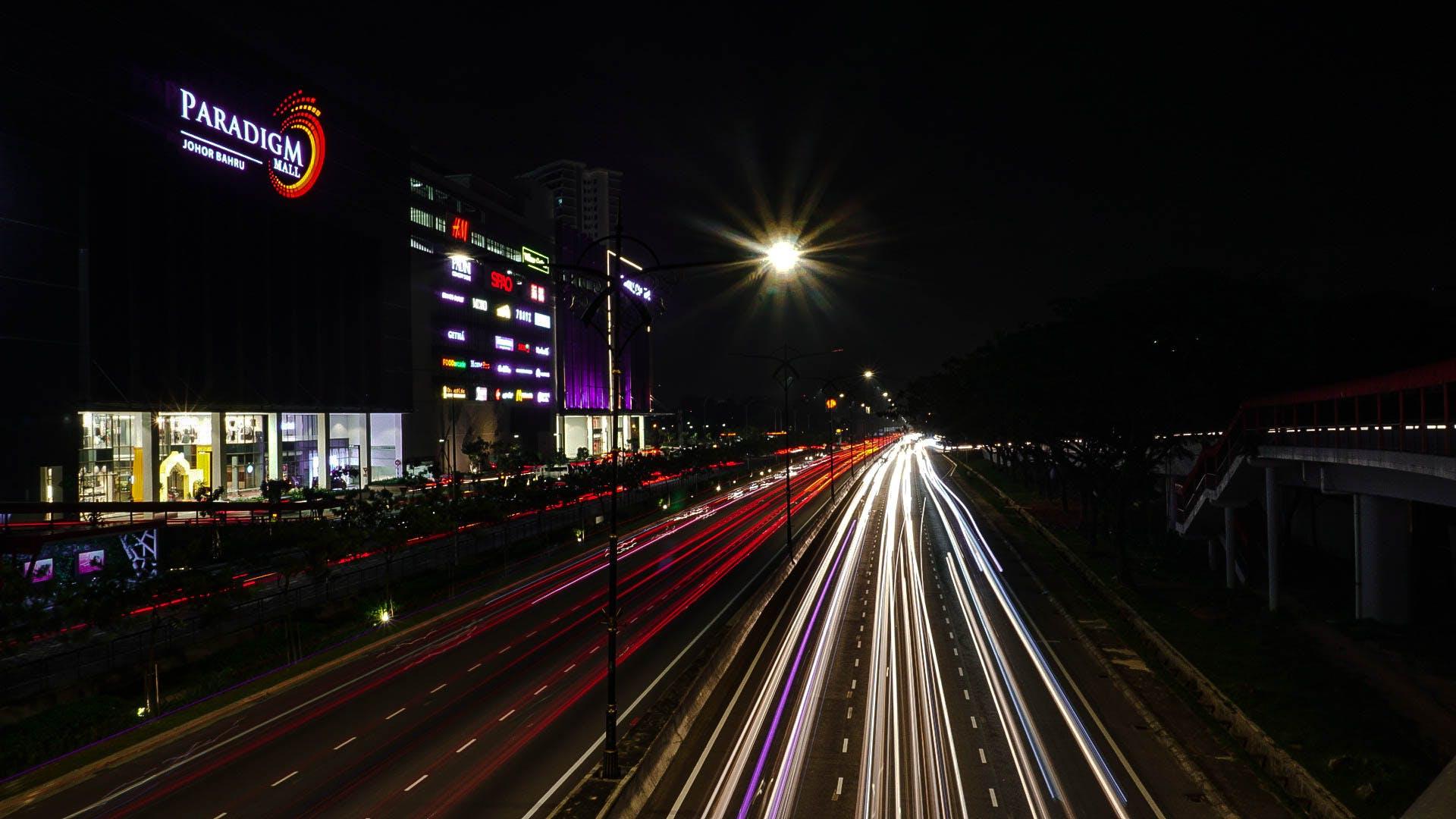 Ingyenes stockfotó éjfél, éjszaka, éjszakai fények, éjszakai város témában