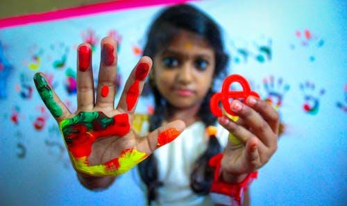 색깔, 색상, 손, 아이의 무료 스톡 사진