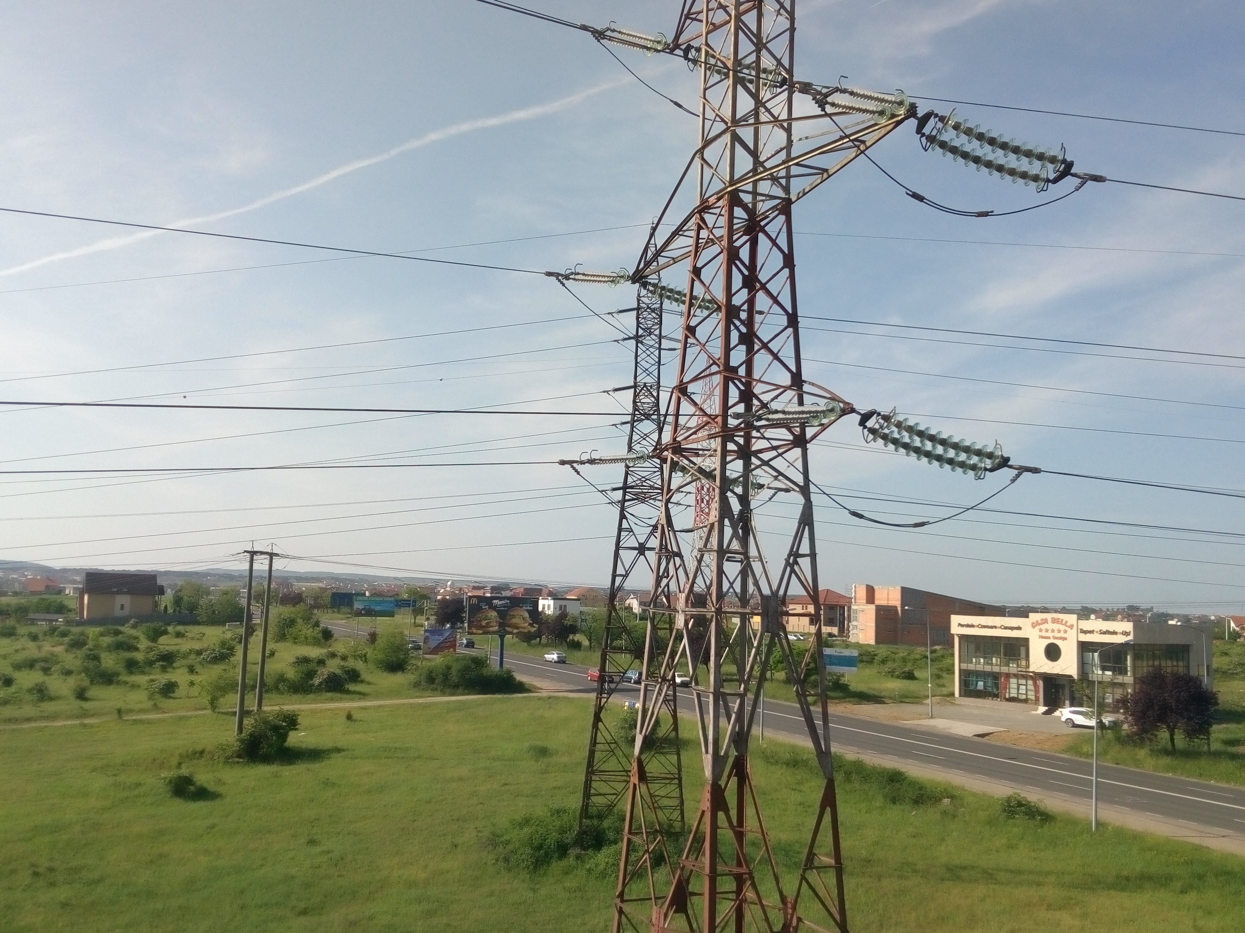Free stock photo of electric, electric lines