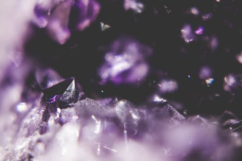 Free stock photo of amethyst, violet