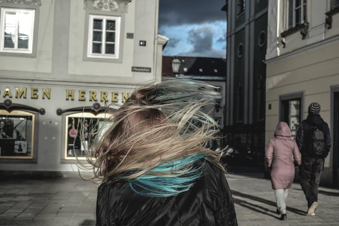 cabello, cabellos, calle