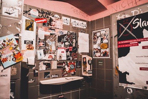 Foto d'estoc gratuïta de desordenat, habitació, lavabo, vandalisme