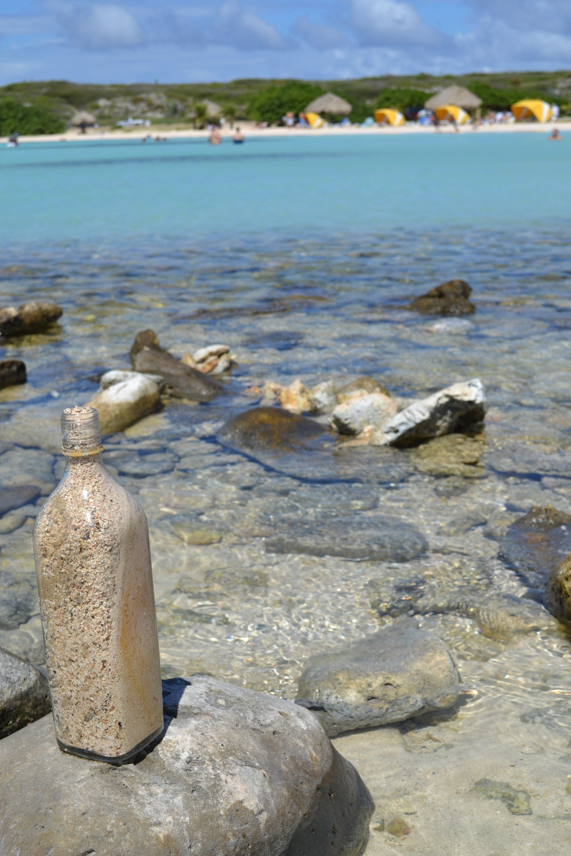 Free stock photo of bottle, caribe, garrafa, praia