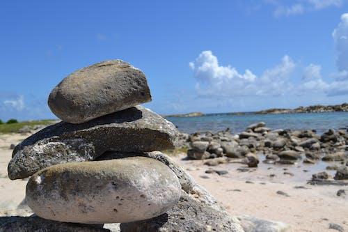 Gratis arkivbilde med pedras, praia, steiner, strand