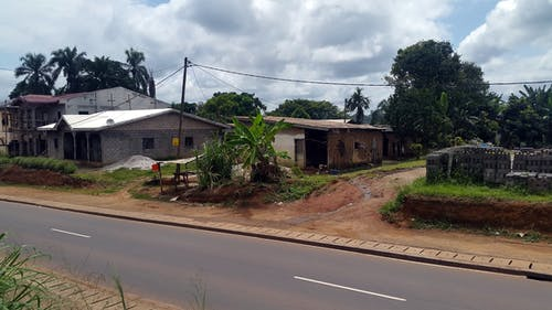 Kostenloses Stock Foto zu grenze von nyong, kamerun postkarte, mbalmayo fluss in kamerun