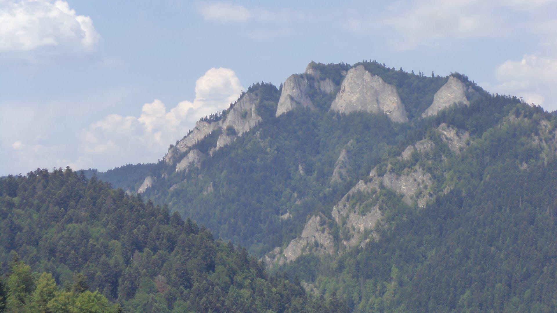 mountain, nature, rocks