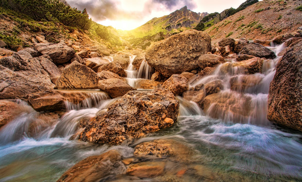 Photography of Flowing Water