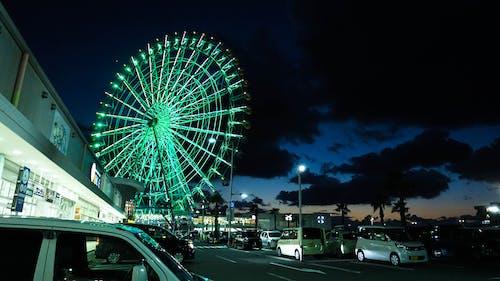 Imagine de stoc gratuită din cer impresionant, Cer întunecat, clădire, cultură japoneză