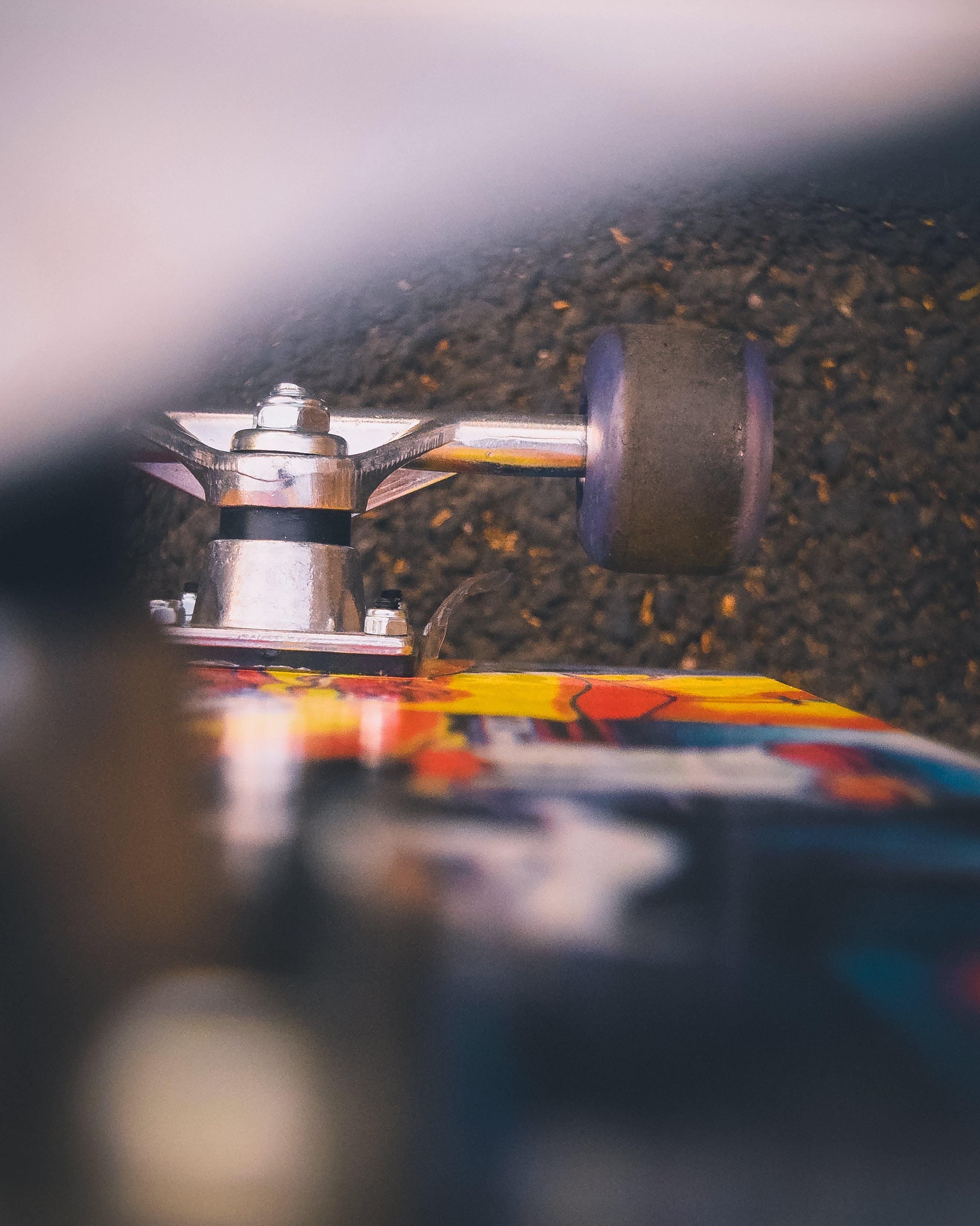 Kostenloses Stock Foto zu rad, skateboard, tiefenschärfe