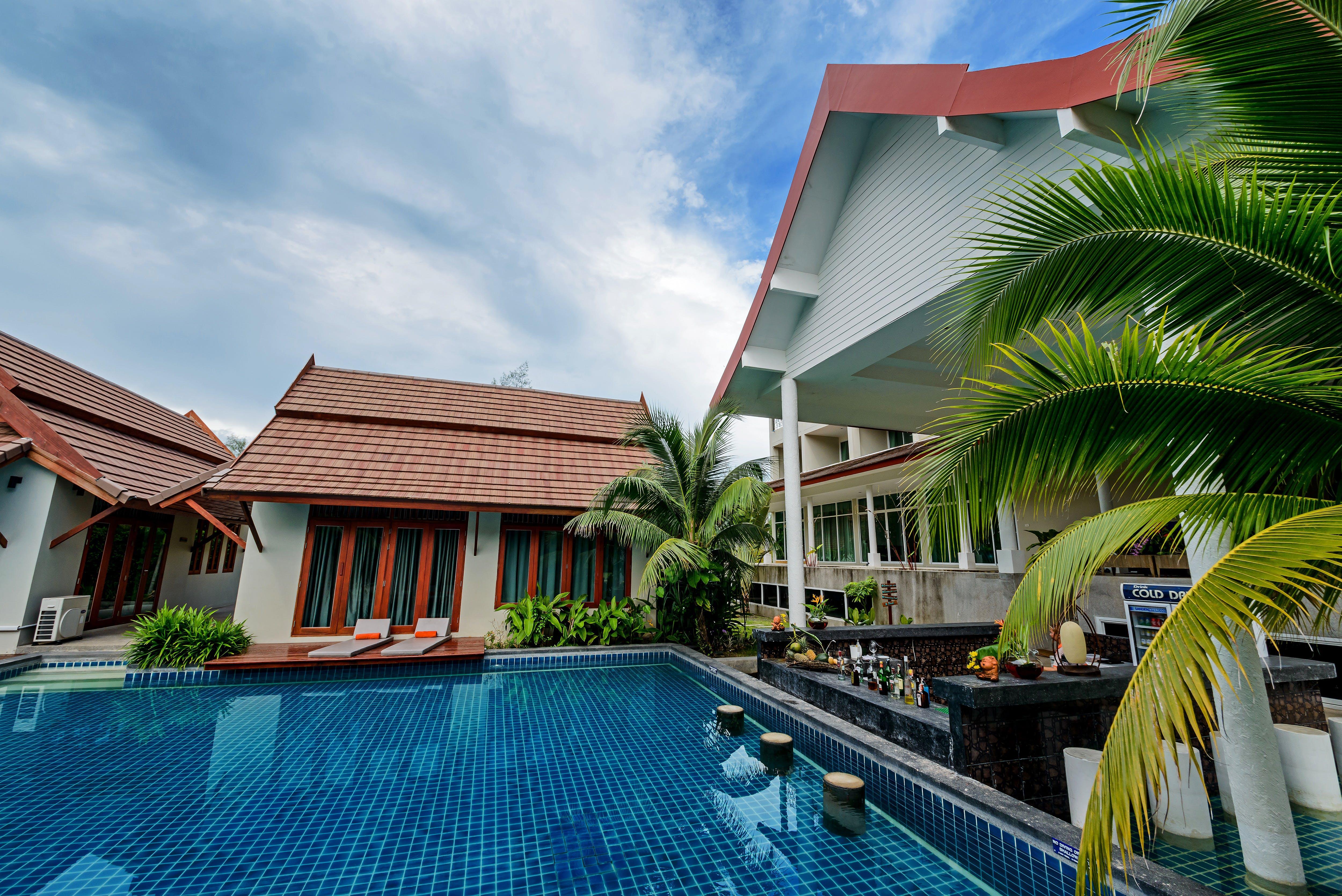 Swimming Pool Near Villas