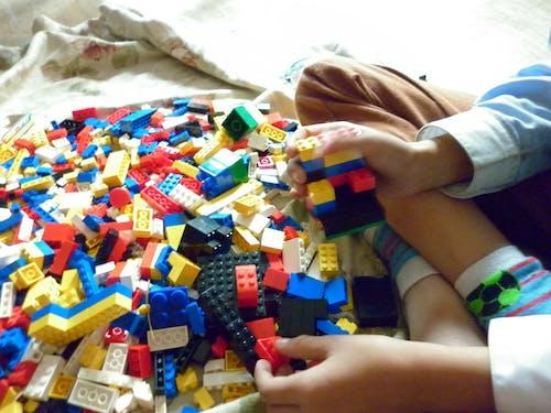 Free stock photo of bricks, child, kid