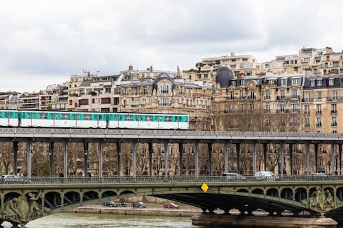 地鐵, 巴黎, 市容, 橋 的 免費圖庫相片