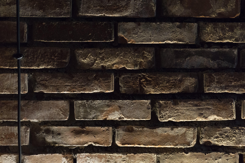 Free stock photo of brick texture, brick wall, dark, light