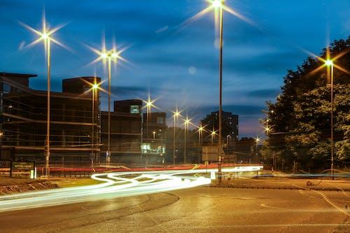 Ingyenes stockfotó autólámpák, városi fények témában