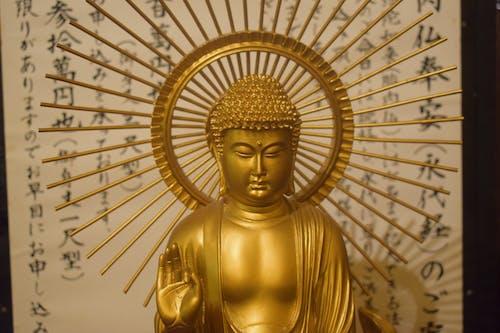 Free stock photo of buddha, gold, golden statue, japan