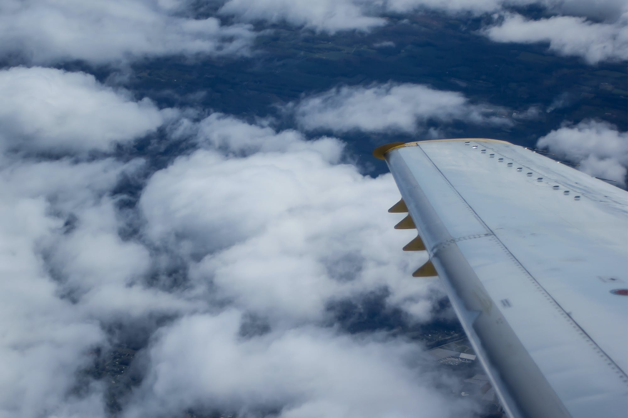 Free stock photo of clouds, flight, plane, sky