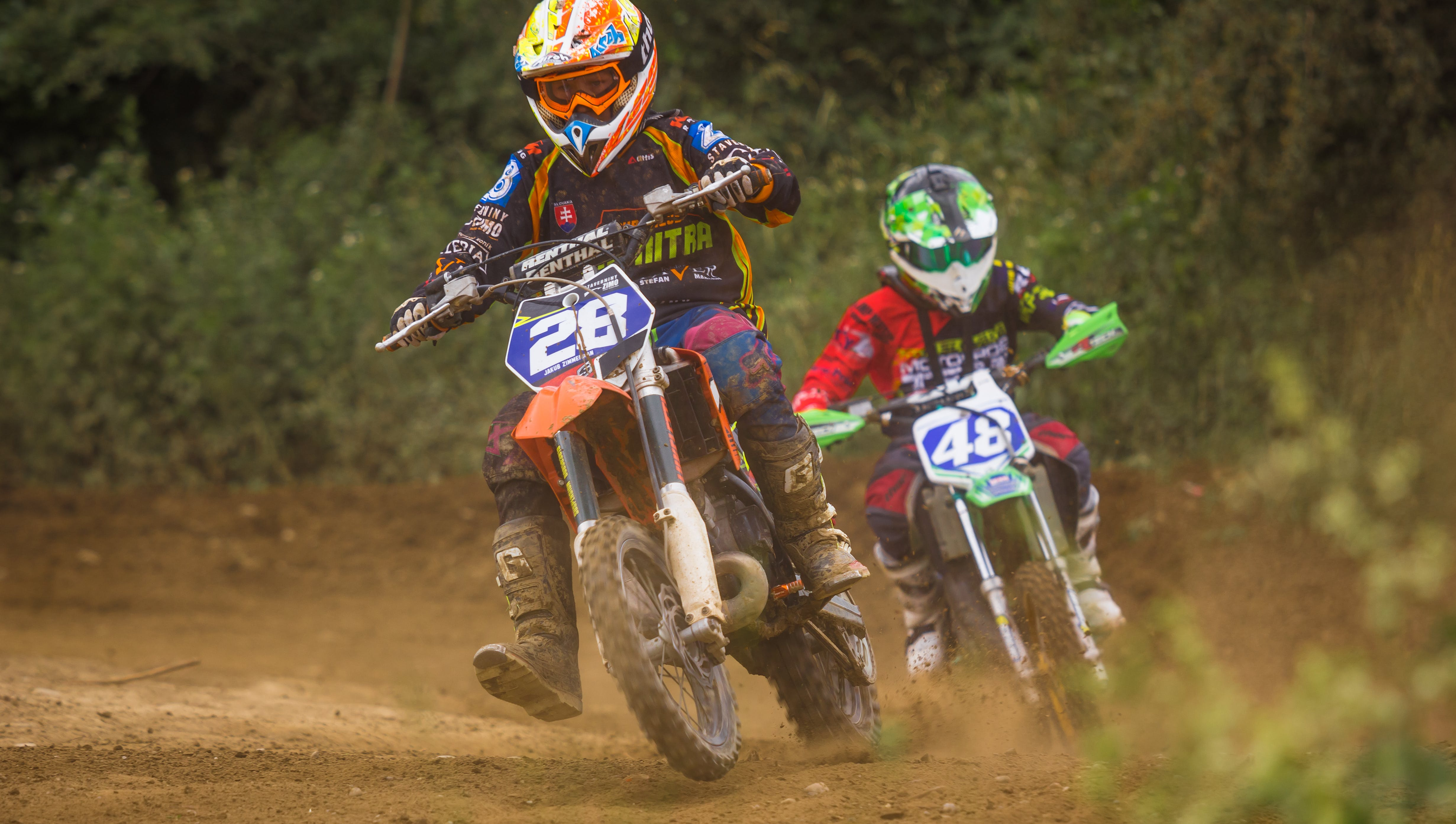 Two Dirt Bikers