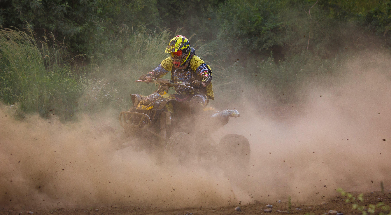 motocross, motorløb, quad