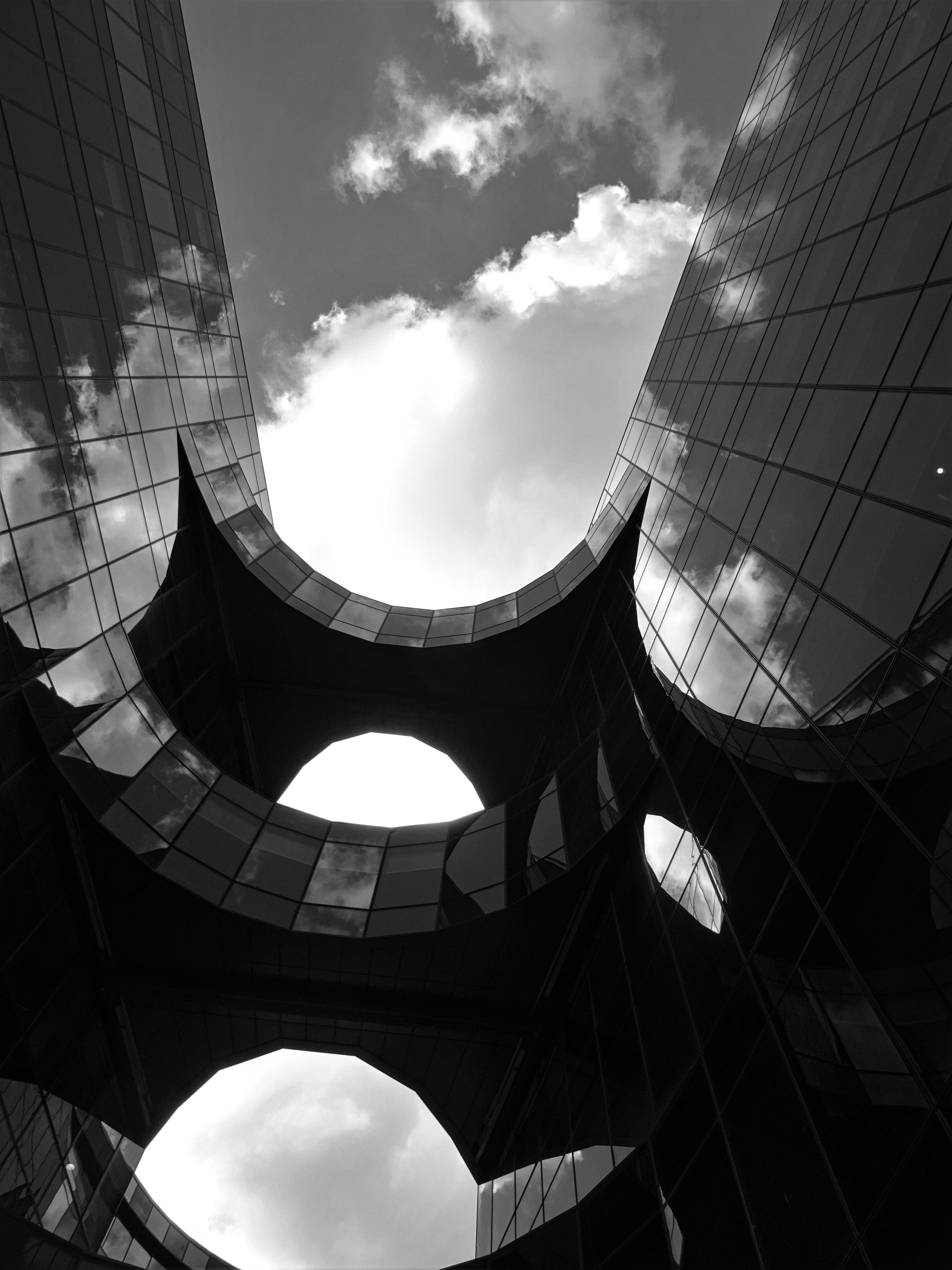 Worm's Eye view Photography of A Building