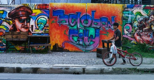 Free stock photo of funky, graffiti, street
