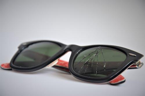 Ảnh lưu trữ miễn phí về kính râm, kính vỡ, rayban