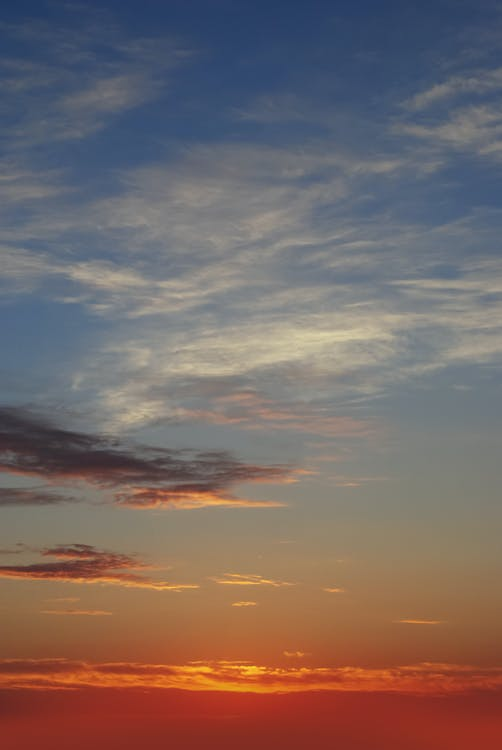 คลังภาพถ่ายฟรี ของ ท้องฟ้าสีคราม, ท้องฟ้าสีฟ้า, ฟ้าคราม