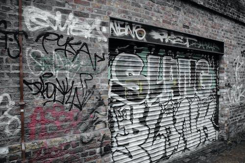 Gratis stockfoto met graffiti, plaats, stedelijk, straat