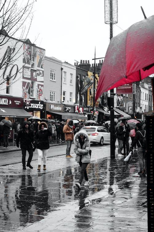 Gratis stockfoto met plaats, regen, stadsleven, stedelijk