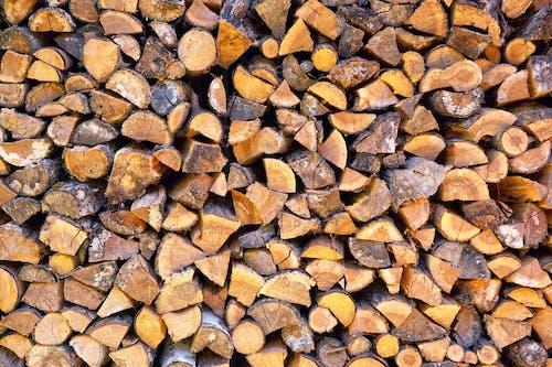 Immagine gratuita di catasta di legna, legno, pila, registri