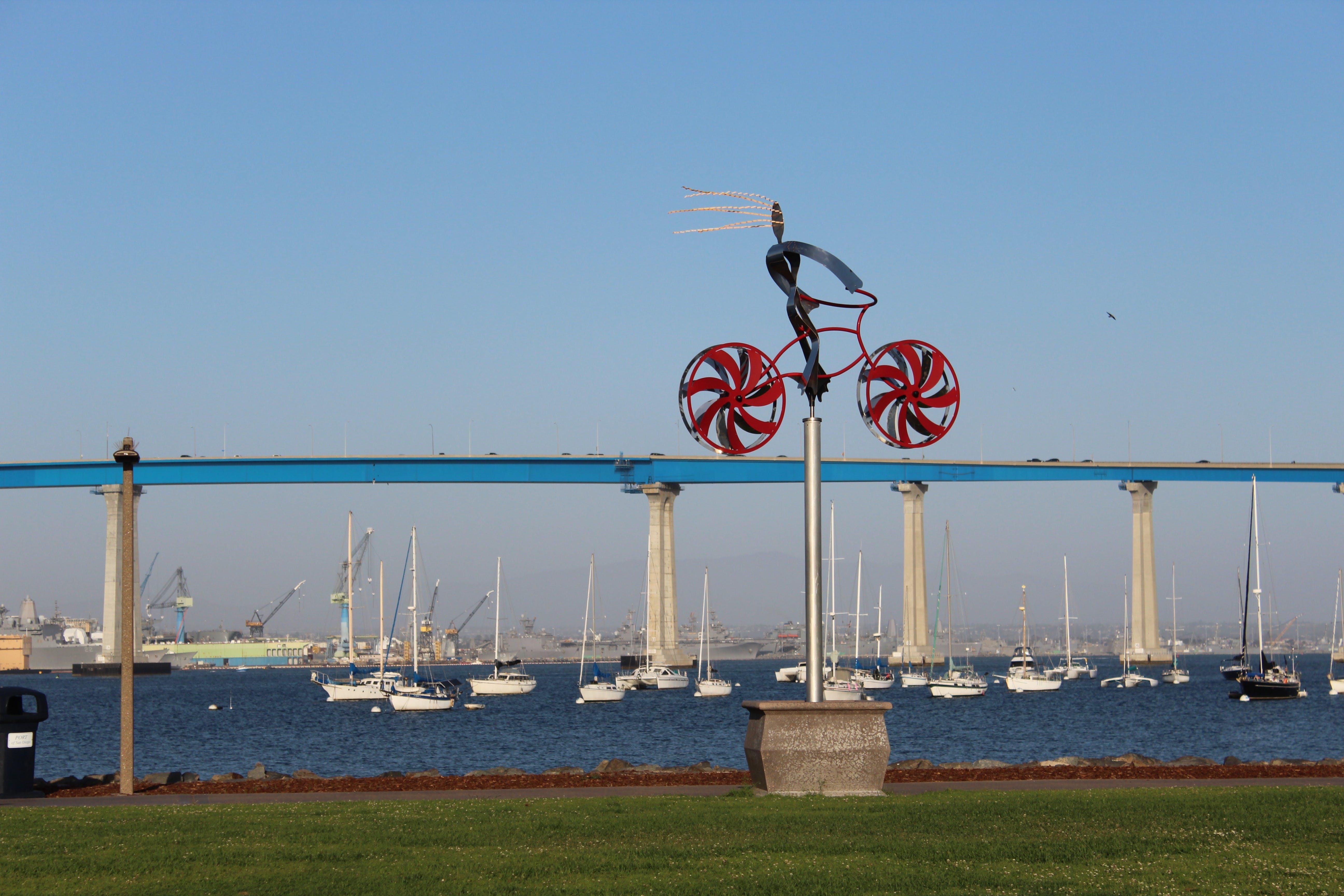 Kostenloses Stock Foto zu bay bridge, fahrradrahmen