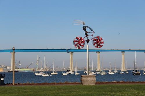 Fotobanka sbezplatnými fotkami na tému Bay Bridge, kostra bicykla