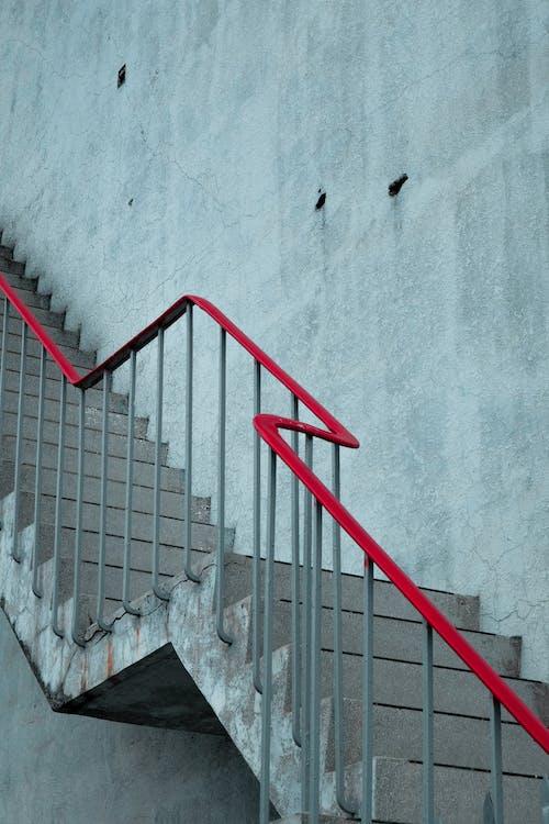 Empty Stair Near Wall