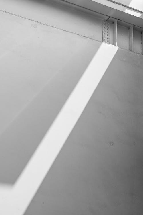คลังภาพถ่ายฟรี ของ คอนกรีต, ง่าย, ผนัง, ผนังสีขาว