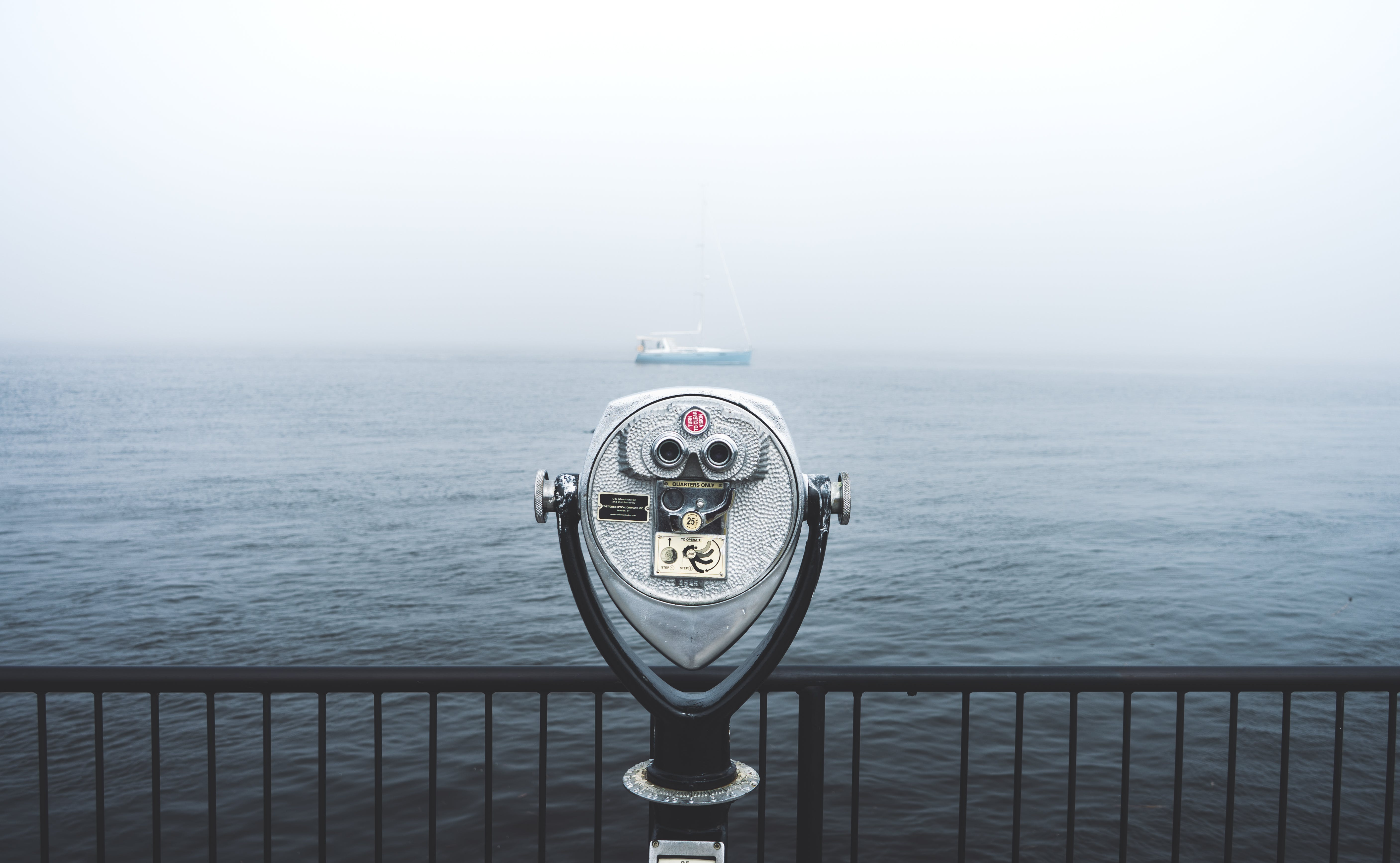 Telescope in Front of Body of Water