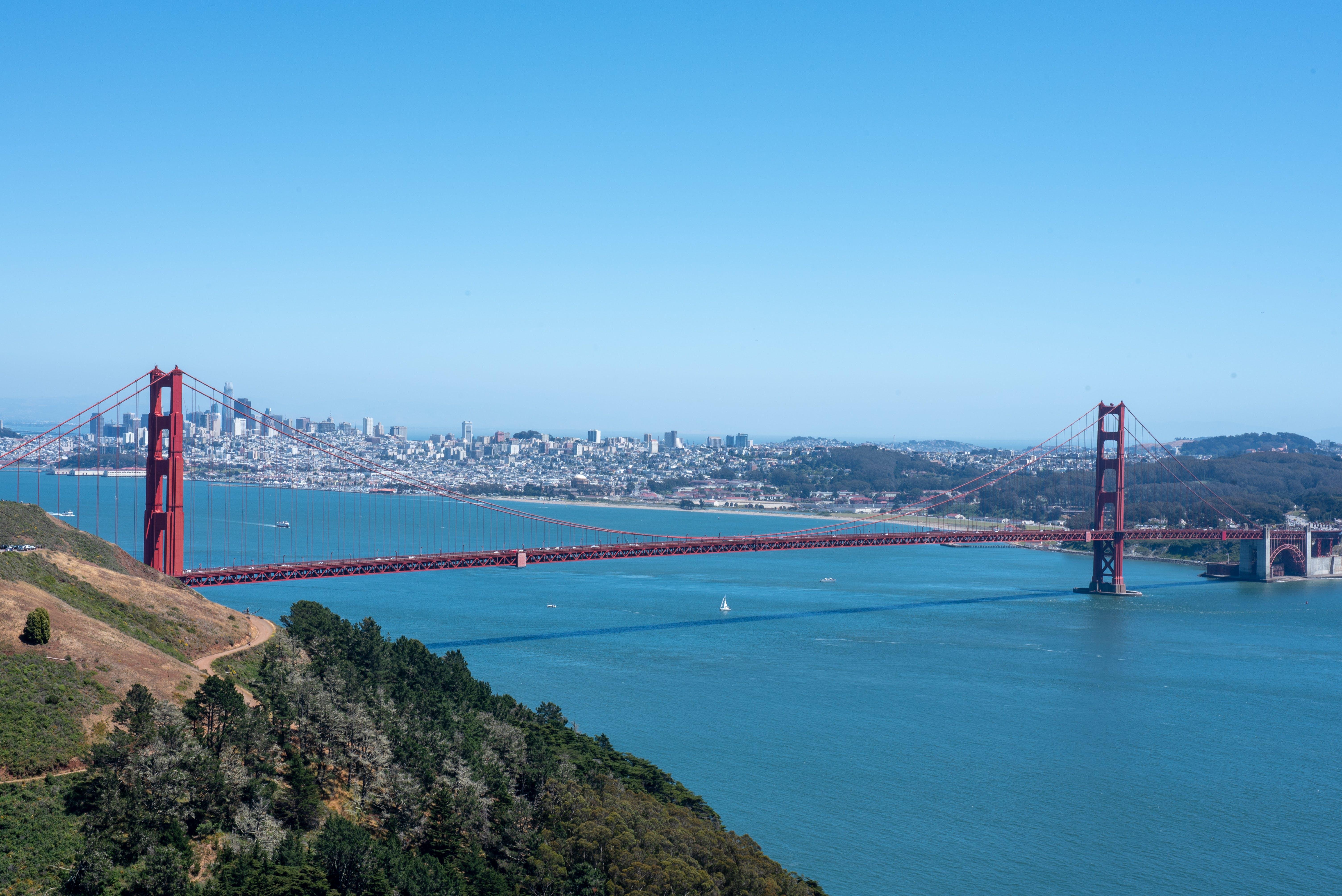 Δωρεάν στοκ φωτογραφιών με γέφυρα Γκόλντεν Γκέιτ
