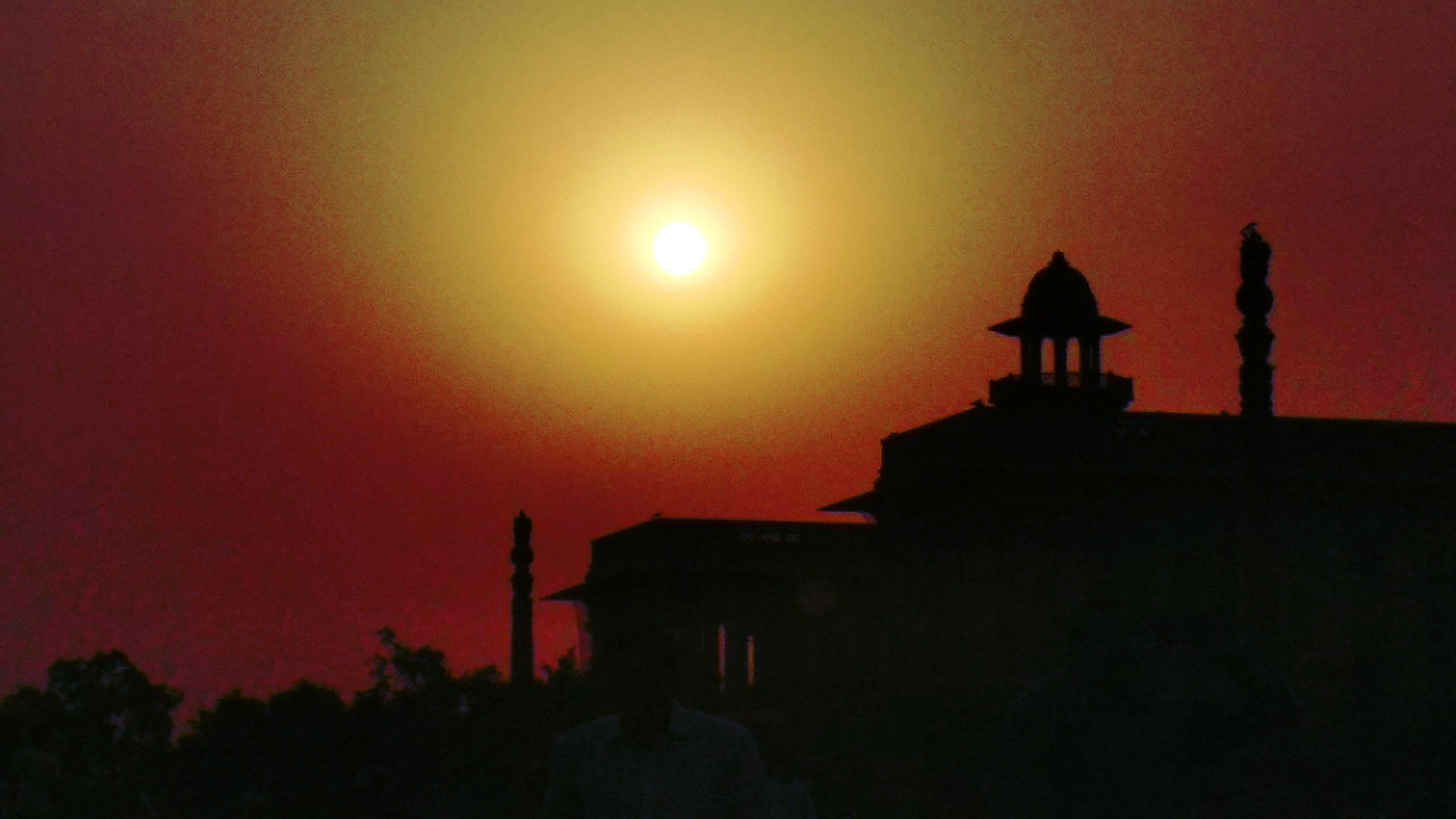 Free stock photo of evening sun, golden sunset, hd wallpapers, landscape