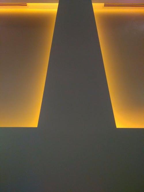 Gratis lagerfoto af gul, gyldengul, lampe, væglys