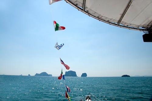 Foto d'estoc gratuïta de barca, Krabi, mar, Riba