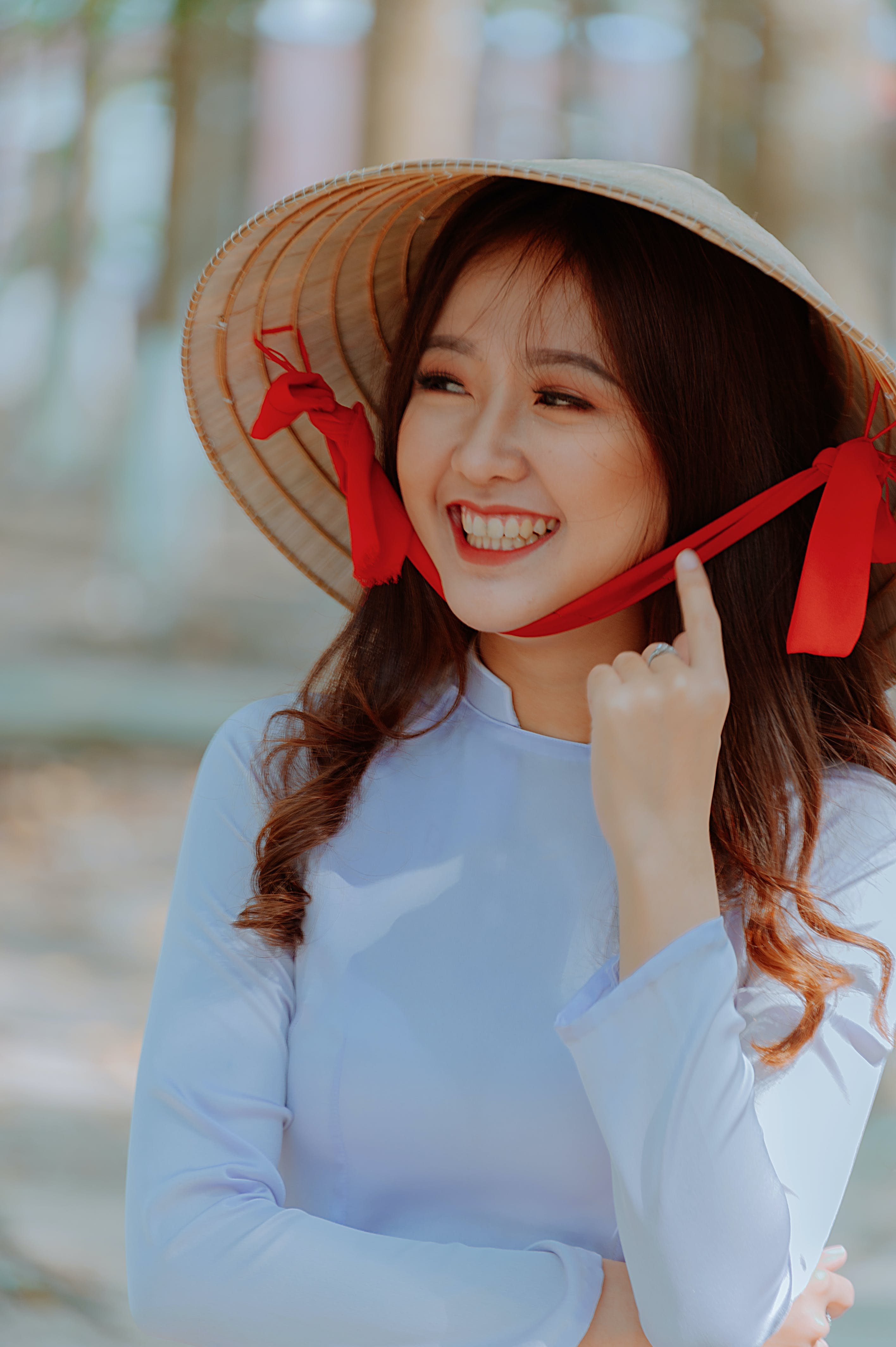 亞洲女人, 亞洲女孩, 可愛, 可愛的 的 免费素材照片