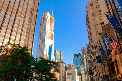 Free stock photo of columbuscircle, manhattan, newyork, skyline