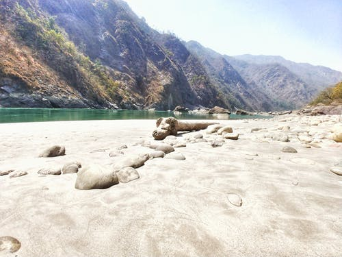 Free stock photo of beach, Ganga, ri