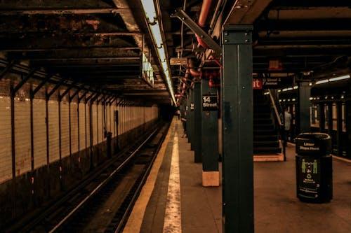 Free stock photo of manhattan, new york, subway, subway platform