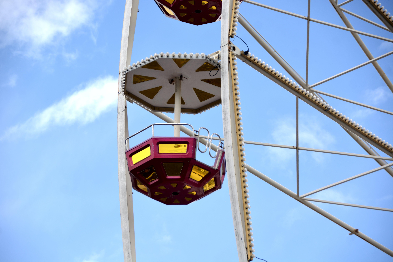 Foto profissional grátis de barquinha, ciel, forains, grande roue