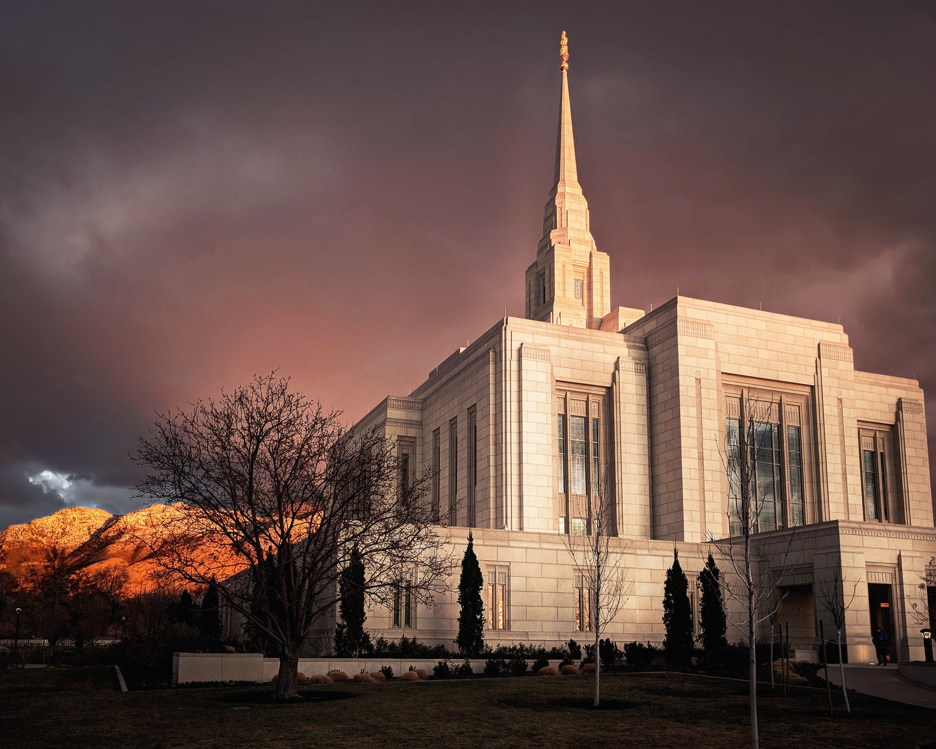 Free stock photo of temple, utah, LDS, ogden