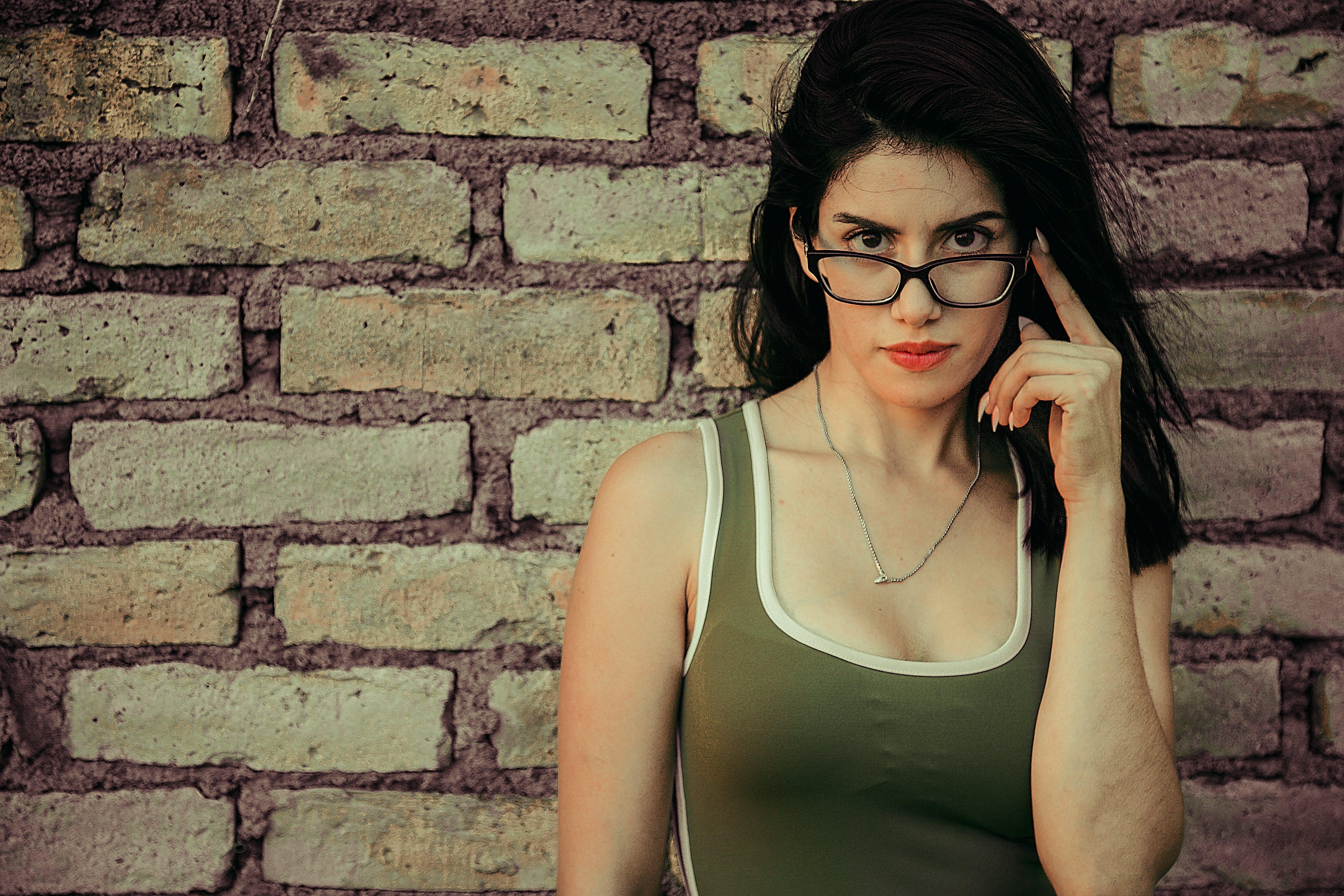 소녀, 예쁜, 큰 눈의 무료 스톡 사진