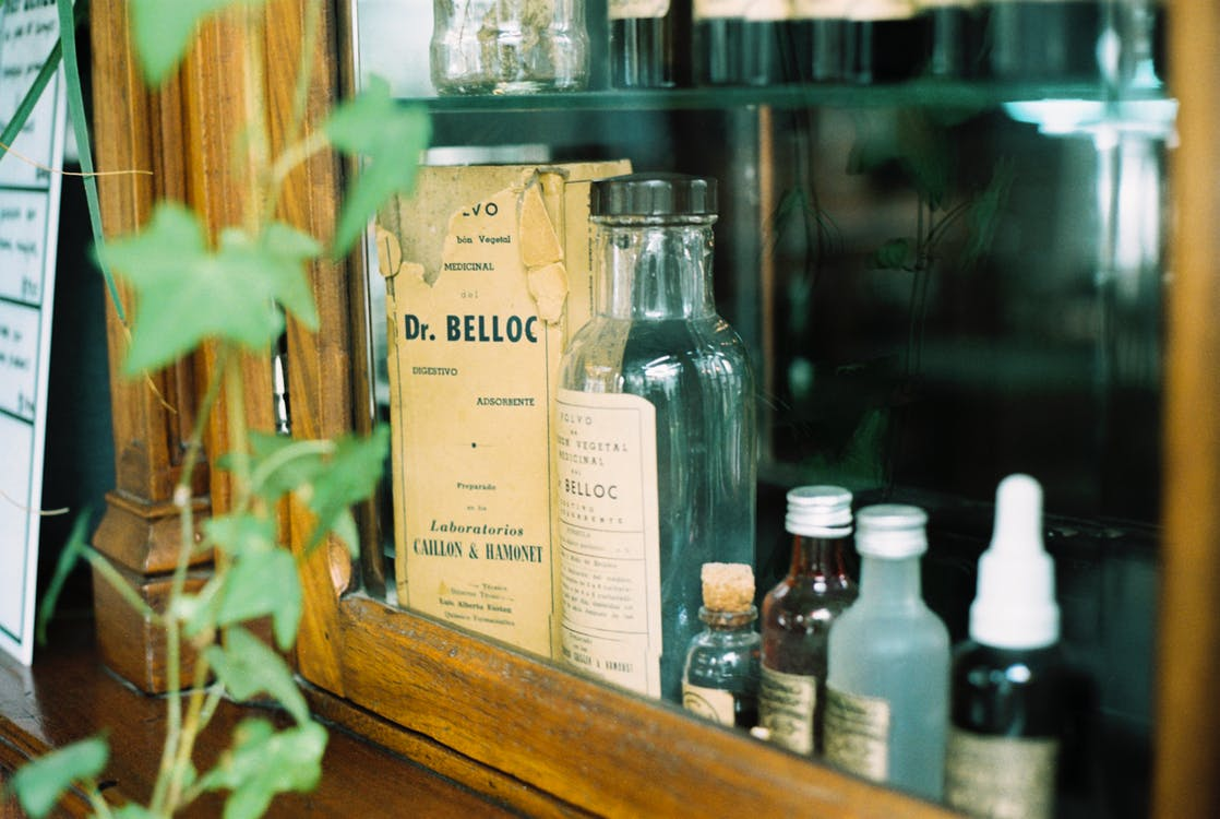 Assorted-type Bottles Lot