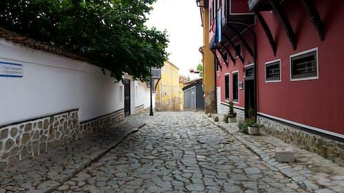 Základová fotografie zdarma na téma barevné domy, barevný, bulharsko, plovdiv