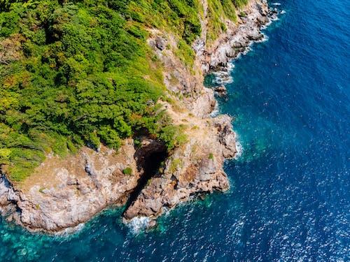 คลังภาพถ่ายฟรี ของ กลางวัน, การก่อตัวของหิน, การท่องเที่ยว, ชายทะเล