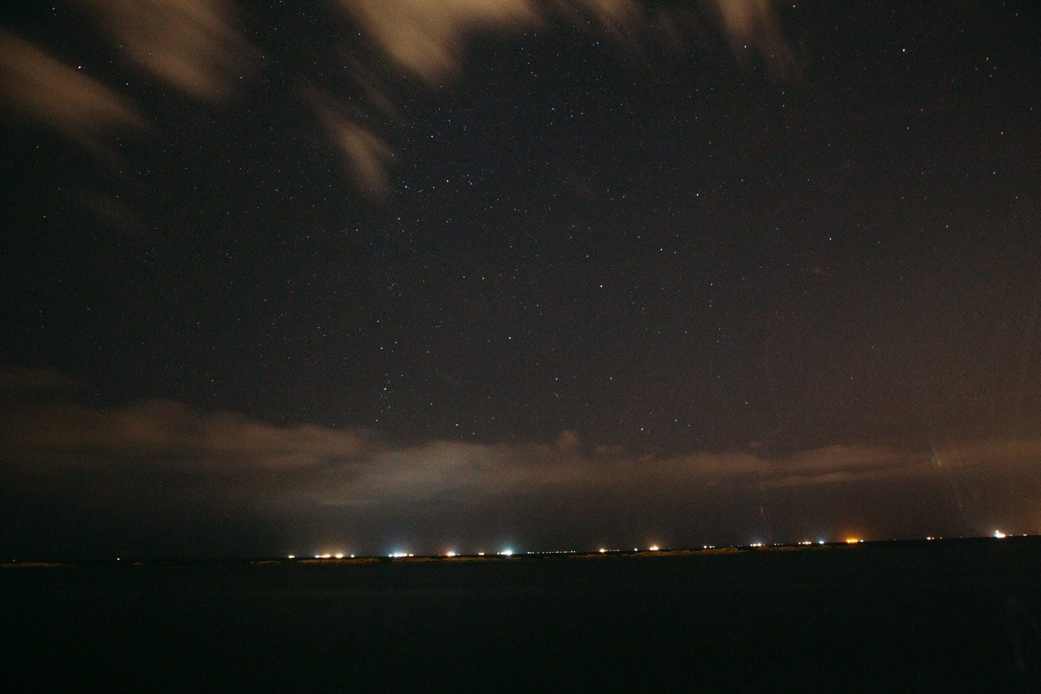Clear Dark Sky