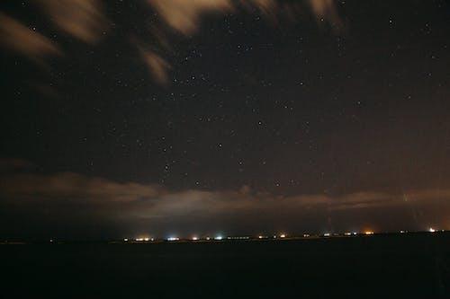 Gratis lagerfoto af himmel, lys, mørk, nat